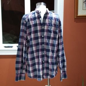 Tommy Bahama checkered top